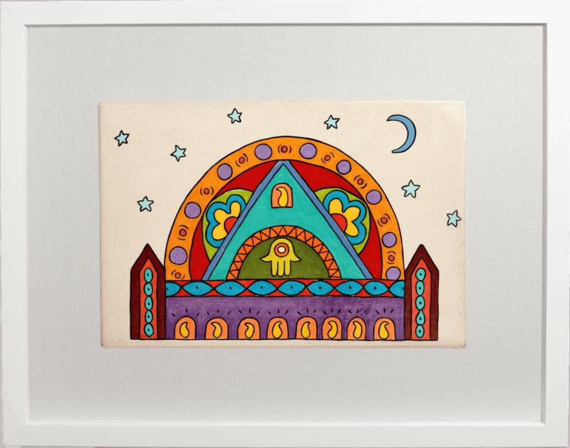 ceramic-paintings-jewish-art-Channukah-Go-Round