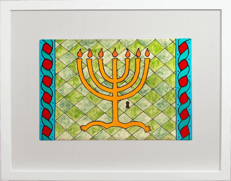 ceramic-paintings-menorah-jewish-art-larca-di-cuneo