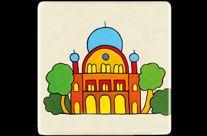 ceramic-magnets-handmade-tiles-synagogue-florence-jewel