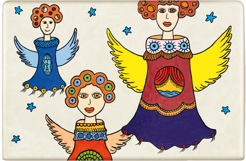 ceramic-magnets-handmade-tiles-angels-malachei-mantels