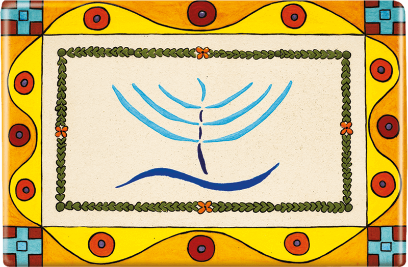 ceramic-magnets-handmade-tiles-mediterranean-menorah