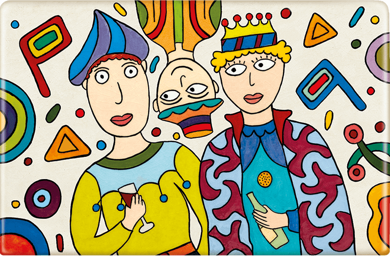 ceramic-magnets-handmade-tiles-party-on-purim