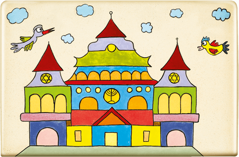 ceramic-magnets-handmade-tiles-jewish-art-synagogue-sniadowo