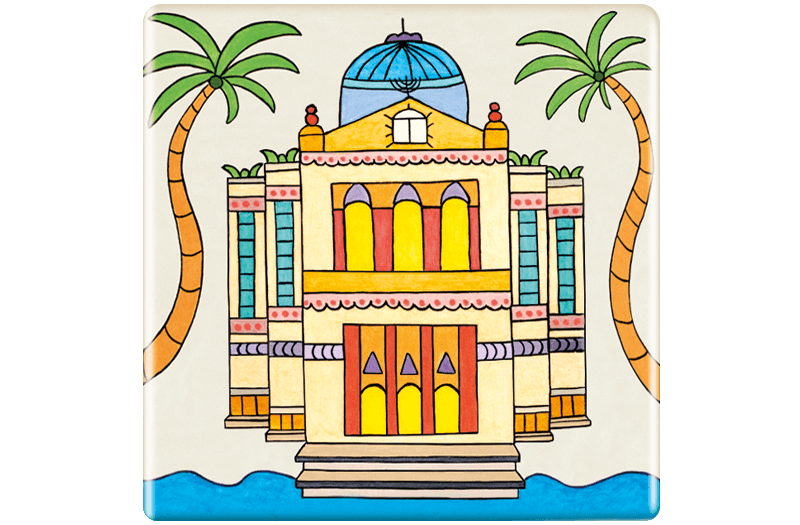 ceramic-magnets-handmade-tiles-synagogue-the-magic-temple
