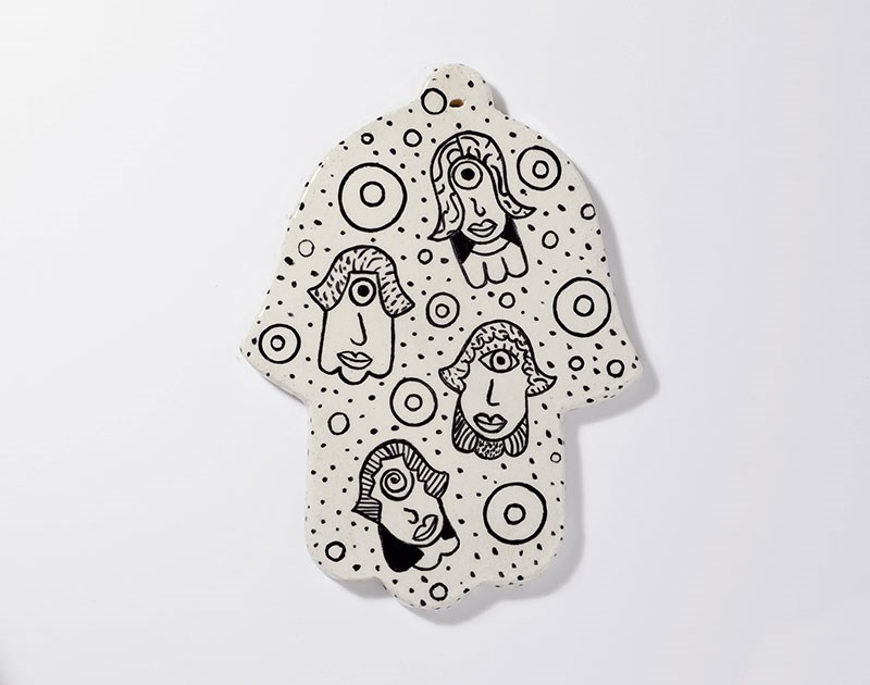 ceramic-paint-hamsa-amulet-my-family