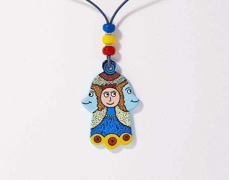 jewish-art-pendant-ceramic-hamsa-hamsaland